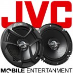 JVC CS-J 620 - 2 Wege 16 cm Koax Lautsprecher Paar mit Abdeckgitter