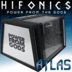 Hifonics Atlas ATL12BP-E Leergehäuse für ATL 12D2 oder andere 30cm Woofer