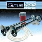 Sinustec 13958 BigBlast Fanfare - 12V Kompressorfanfare Doppelfanfare Hupe Horn