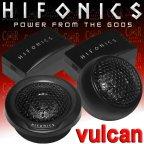 Hifonics Vulcan VX 6.2 T Hochtöner Tweeter Paar mit Gehäuse & Frequenzweiche