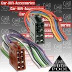 1432-02 Universal Umrüstadapter - ISO Stecker Lautsprecher / Strom blanke Enden