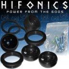 Hifonics Warrior WR-TMS - Hochtöner Einbau / Aufbaugehäuse Set