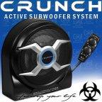 Crunch GP 508 - Aktiv kompakt Bass System Subwoofer mit Verstärker GP508