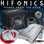 Hifonics HF-BP800 Soundpack - Auto Car Hifi Lautsprecher Bass Box Anlage Set