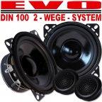 EVO CS-100 - 2 Wege 10cm Kompo Lautsprecher Set - 2 Way 100mm Compo Speaker Kit