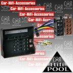 1195-02 Radioanschlusskabel Autoradio Iso Adapter Kabel Mercedes E Klasse W211 / CLS W219 / SLK R171