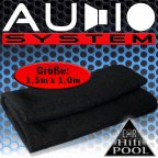 Audio System LT Lautsprecherteppich anthrazit  - Teppich Bezugsstoff Autoteppich