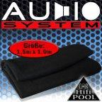 Audio System LT Lautsprecherteppich schwarz  - Teppich Bezugsstoff Autoteppich