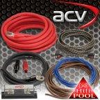 ACV WK-35 - KFZ Kabelset 35mm² Kabelkit Kabel Set für Endstufe Verstärker