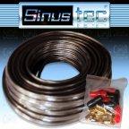 Sinustec ST-KL0,75b ultra-light - 10m 0,75mm² Lautsprecherkabel + Kabelschuhe