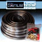 Sinustec ST-KL1,5b ultra-light - 10m 1,5mm² Lautsprecherkabel + Kabelschuhe