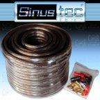 Sinustec ST-KL4,0b ultra-light - 10m 4,0mm² Lautsprecherkabel + Kabelschuhe