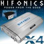 Hifonics Boltar X4 - 2 Kanal Analog 1200 W. RMS Verstärker Endstufe Amplifier