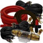 Dietz 354K-ROM 4 Kanal Kabelset 35mm² Kabelkit Kabel Set für Endstufe Verstärker