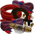 Dietz 354K-LEIPZIG 4 Kanal Kabelset 35mm² Kabelkit Kabel Set für Endstufe Verstärker