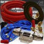 HO-35100 100A 35mm² Car Hifi Kabelset Kabelkit Kabel Set für Endstufe Verstärker