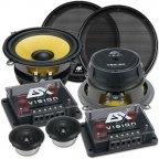 ESX VISION VE 5.2C - 130mm 2 Wege Kompo Lautsprecher Set 13cm Compo Speaker