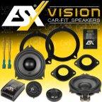 ESX VISION VS-100C - 2 Weg 10cm Kompo Lautsprecher Set für BMW