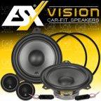 ESX VISION VS-165C - 16,5cm kompo Lautsprecher Set > BMW 3er E46