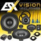 ESX VISION VS-200C - 3 Weg 20cm Kompo Lautsprecher Set für BMW