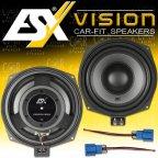 ESX VISION VS-200W - 20cm Woofer Lautsprecher Paar für BMW