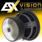 ESX VISION VE-1222 - High End Subwoofer Woofer 2+ 2 Ohm 30cm Bass 6000 W. VE1222