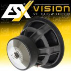 ESX VISION VE-1522 - High End Subwoofer Woofer 2+ 2 Ohm 38cm Bass 8000 W. VE1522