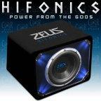 Hifonics Zeus ZRX 10 - 25cm Woofer Bassreflex Gehäuse Subwoofer Bassbox ZRX10