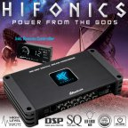 Hifonics Medusa M8-DSP 8-Kanal DSP Car-HiFi Sound Processor M8DSP Prozessor