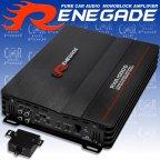 Renegade RXA 1000d - 1000 Watt 1 Kanal Monoblock Endstufe Verstärker RXA1000d