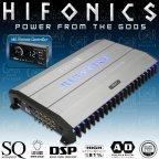Hifonics Thor TRX5005DSP - 5 Kanal Endstufe Verstärker mit 8 Kanal DSP Prozessor