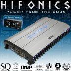 Hifonics Thor TRX6006DSP - 6 Kanal Endstufe Verstärker mit 8 Kanal DSP Prozessor
