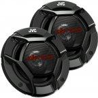 JVC CS-DR520 - 2 Wege 13cm Koax Lautsprecher Paar mit Abdeckgitter CS DR 520