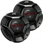 JVC CS-DR420 - 2 Wege 10cm Koax Lautsprecher Paar mit Gitter CS DR 420