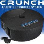 Crunch Groundpouder GP690 Reserverad Aktiv Subwoofer Bass Bassbox mit Verstärker