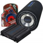 Crunch Basspaket - GPX-500.2 Verstärker & GTS-250 Bassröhre & Renegade Kabelset