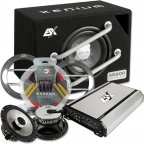 """ESX HXE 200.4 20cm 8"""" Soundpack - Verstärker Subwoofer Lautsprecher & Kabelset"""