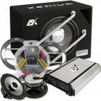 """ESX HXE 250.4 25cm 10"""" Soundpack - Verstärker Subwoofer Lautsprecher & Kabelset"""