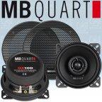 MB QUART QX 100 - 2 Wege 10cm 100mm Koax Lautsprecher Paar QX100 mit Gitter