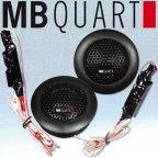 MB QUART QS 165T - Car Hifi Speaker Tweeter Hochtöner Paar mit Frequenzweichen