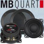 MB QUART QS 100W - 10cm Mitteltöner 100mm Midbass Lautsprecher Paar mit Gitter