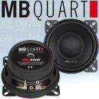 MB QUART QS 100W - 10cm Mitteltöner Woofer 100mm Midbass Lautsprecher Paar
