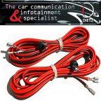 BOA-18002-00 Lautsprecherkabel mit Lautsprecherstecker DIN Norm Strich/Punkt für Mercedes